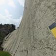 Plezanje po enem izmed največjih jezov v Evropi