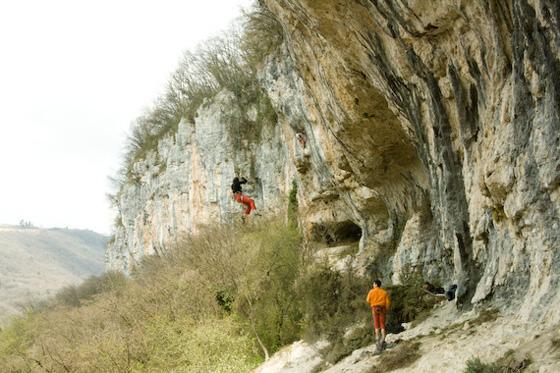 Plezanje v Ceredu