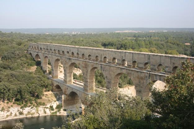 Rimski akvadukt Pont du Gard
