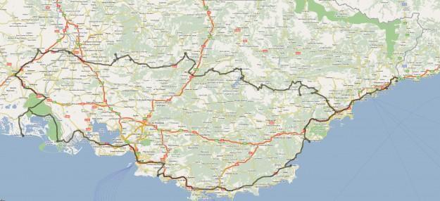 Zemljevid Provansa